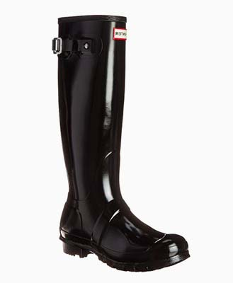botas hunter brillantes